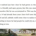 The Leeches Loom, Chapter 19 – Moswen