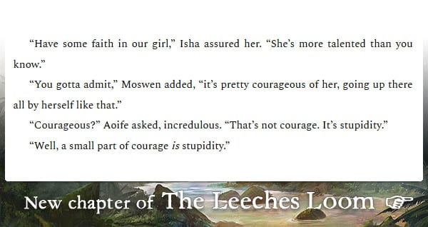 The Leeches Loom, Chapter 31 – Aoife